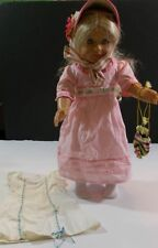 """AMERICAN GIRL 18"""" CAROLINE ABBOT DOLL + MEET OUTFIT Hat Purse Nightgown"""