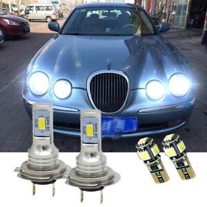 Fits Jaguar S Type Saloon 1998-2009 ensemble de HB3 501 Xenon Ampoules