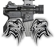AR15 Lower BALD EAGLE Decals / Magazine Stickers / S&W Colt Mag Black Ops (2x)