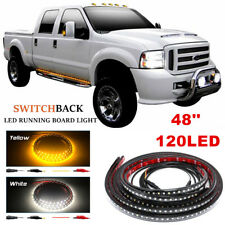 2pc Running Board Side Step LED Light Strip for Chevy Dodge GMC Ford Trucks SUVs