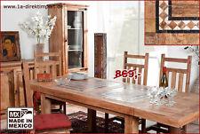 Ausziehbare rechteckige Esstische & Küchentische aus Massivholz