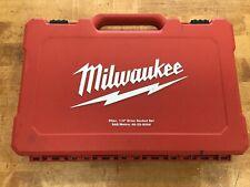 """Milwaukee 48-22-9004 50pc 1/4"""" Drive SAE/Metric Socket Set"""