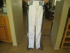WORTH Titan Baseball Pant Adult S White/Navy/L Blue pre owned clean