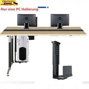 PC Halterung Schreibtisch Computerhalterung unter Tisch verstellbar schwenkbar
