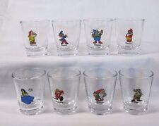 8-pc. Sn ow Whi te & the 7 Dwa rfs Logos on Clear Shot Glass Set