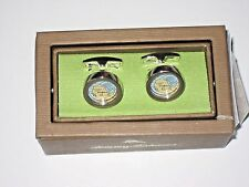 Tommy Bahama Mens Island Map and Sand Cuff links Customization NIB Free Ship