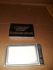 Vintage Miller Beer Playing Cards Sealed