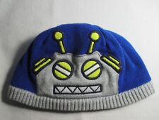 Robot Gymboree 6 - 12 Months Toddler One Size Cap Hat Beanie Great Condition
