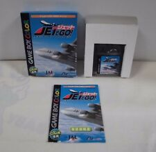 GB -- Jet de Go! -- Box. Can data save! Game Boy, JAPAN Game Nintendo. 31074