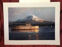 """""""An Evening To Remember Virginia V and Mt. Rainier"""" by Michael Spakowsky"""