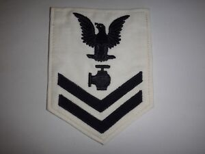 États-Unis Marine Petty Officer 2nd Classe Chevron Avec Utilitaires Homme Note