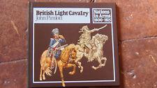 "HISTOIRE EMPIRE "" british light cavalery 1800-1815 par J Pimlott (uniformes)"