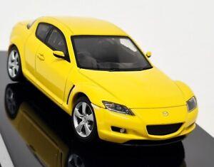 Autoart 1/43 - 58921 Mazda RX-8 Lightning Yellow Rotary Diecast Model Car
