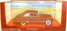 Buick Roadmaster au pays de Lor L d' ORIGINE NOIR TINTIN ATLAS 1:43 emballage