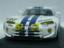 WOW EXTREMELY RARE Dodge Viper GTS-R Chrysler #63 Le Mans 1997 1:43 Minichamps