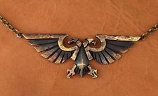 Warhammer 40K Emperor of Mankind Imperial Aquila Eagle Necklace Jewelry Pendant