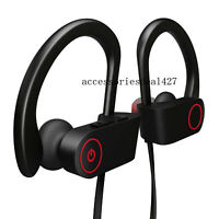 Waterproof Bluetooth Earbuds Stereo Sports Wireless Headphones in Ear Headset