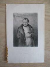"Gravure ancienne Delannoy  "" Napoléon I° """