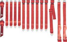 PG Classic 3850-70BEN-528 Mopar 1970-71 A-Body  Bench  Seat  Belt  RED