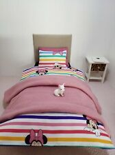 1/6 scale doll size single bedding set for barbie dolls Minnie Mouse