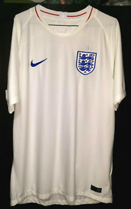 England Authentic Nike Home Football Jersey Shirt 2018-2019