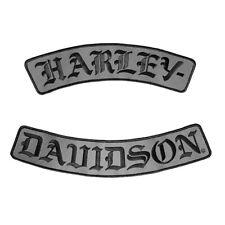 Harley-Davidson Aufnäher H-D Schriftzüge