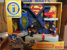 Fisher Price Imaginext DC Superman Playset General Zod cape New Fortress box man