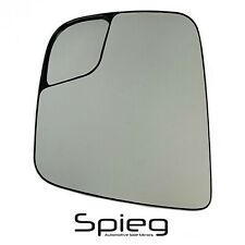Side Mirror Glass for 13-20 Nissan NV200 15-18 City Express with Spotter DRIVER