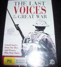 Last Voices Of The Great War (Australia Region 4) 2 DVD – New
