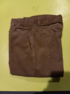 Nautica Boys Gold Couderoy Casual Pants Size 16 New No Tags Adjustable Waist