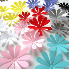 12pcs Cute PVC 3D Flower Nursery Wall Stickers Kids Room Home Decor Decal Art