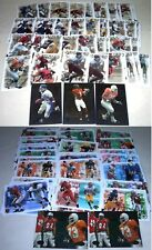FLEER 2000 DOMINION ROOKIE PAIRS RC FOOTBALL 76 CARD LOT 5 FOIL - URLACHER NICE