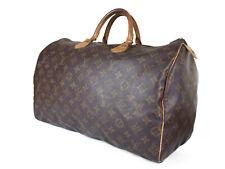 LOUIS VUITTON Speedy 40 Monogram Canvas Leather Hand Bag LH3013