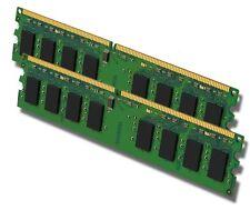 PC memoria RAM 2x 1gb ddr2 pc2-6400 800mhz 240-pol. DIMM SDRAM