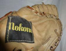 "Nokona CM250K Kangaroo Leather Baseball Catchers Glove Mitt RH Made In USA 11"""