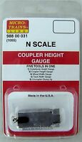 Micro-Trains Line (MTL) 98800031 N (1055) Coupler Height Gauge. New