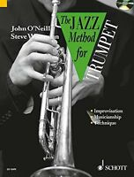 Jazz Method for Trumpet  Tutor Book   CD