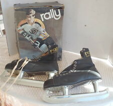 Vintage 70s Rally Bobby Orr Men's Size 10 Ice Hockey Skates w/ Box Old Nhl Box