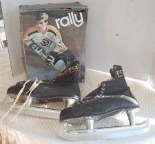 Vintage 70s Rally BOBBY ORR Men's Size 10 Ice Hockey Skates w/ Box Old NHL Box