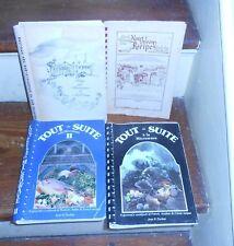 LOT OF 4 ETHNIC VINTAGE LOUISIANA COMMUNITY COOK BOOKS CAJUN NEW ORLEANS LA ++++