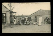 Africa France Cols  Afrique Occidentale Senegal DAKAR Digaines PPC 1912 colonial