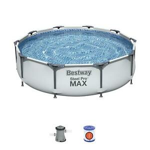 Bestway 56408 Frame Pool Steel Pro Set 305x76 cm Pompa 1.249 l/h