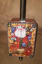 Santa Diddley Bow Cigar Box Guitar Christmas Acoustic didley cbg