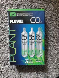 Fluval 3 Pack Pressurized CO2 Cartridge, 45 Gram