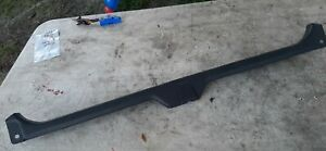 90-96 Infiniti Q45 Trunk Scuff Plate Door Sill Gray Latch Cover Trim