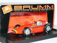 Brumm R196 Ferrari 555 Squalo Mike Hawthorn 1955 Dutch GP #2 1/43