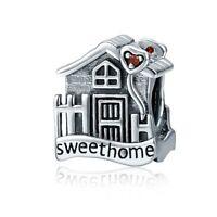 Sweet Home Loft Villa Charm 100% 925 Sterling Silver Pandora