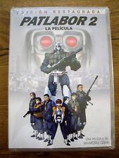 Patlabor 2 - La película - Edición Restaurada -  DVD - Nueva Precintada