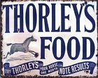 thorlets Alimentos Caballo Vintage Cartel Metal Placa de pared