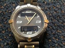Breitling Aerospace 40 mm Titanium and 18K yellow gold-VERY GOOD CONDITION